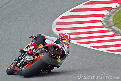Pedrosa in turn Editorial Image