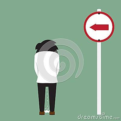 Roadside Men peeing