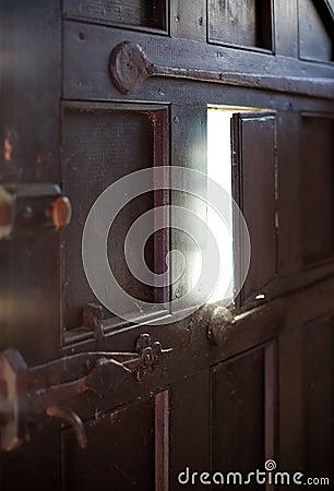Peek-a-Boo Door