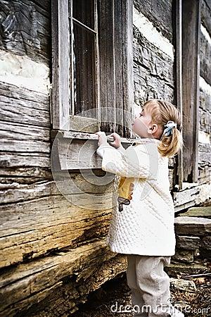 Peeking Child