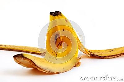 Peel of a banana
