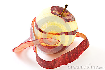 Peeled Apple