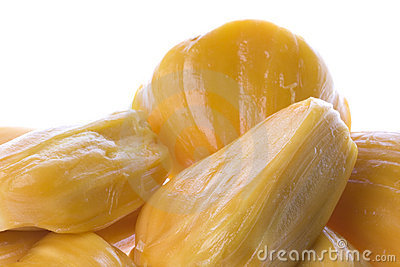 Peeled Jackfruits