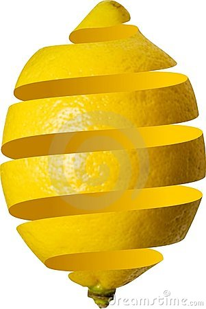 Free Peeled Lemon Stock Image - 22289361