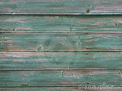 Peeled paint wooden background