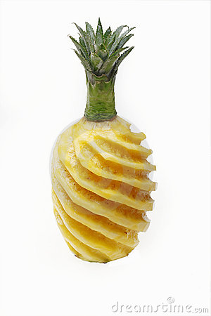 Free Peeled Pineapple Royalty Free Stock Images - 19444719