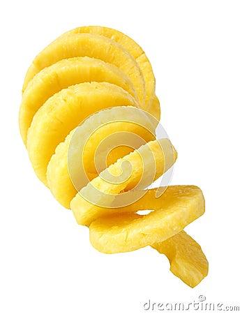 Free Peeled Pineapple Stock Photo - 30335950