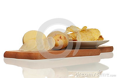 Peeled potato