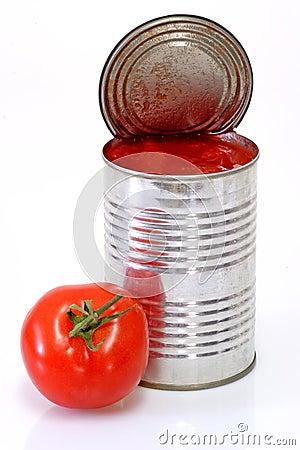 Free Peeled Tomatoes Stock Image - 4554401