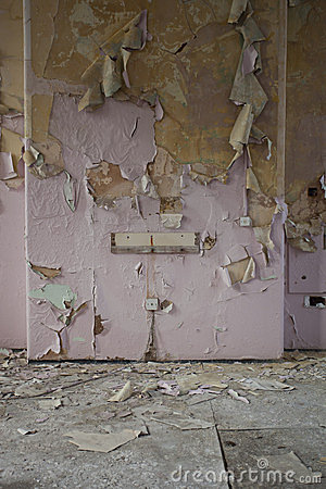 Peeling Wallpaper Stock Images - Image: 23823104