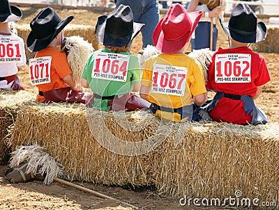 PeeWee Stampeders - State Fair of Texas Editorial Image