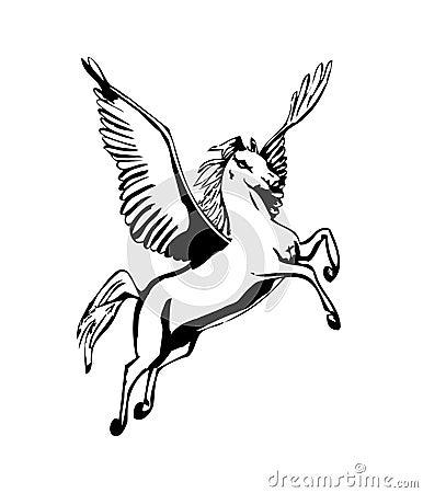 Free Pegasus Stock Image - 4772971