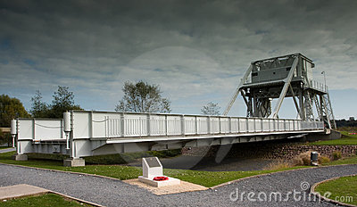Pegasus Bridge in France