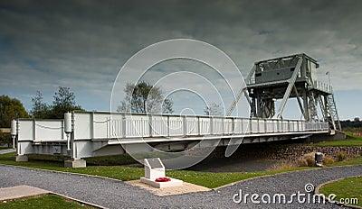 Pegasus Bridge in France