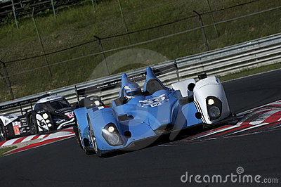 Pegasus Racing at free practice Editorial Stock Photo