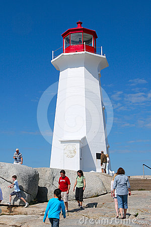 Peggy s cove lighthouse Editorial Photo