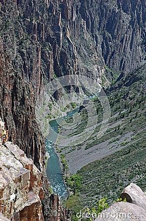 Pegmatite at Black Canyon