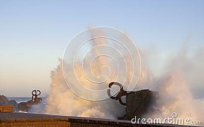 Peine del viento, Chillida, Donostia