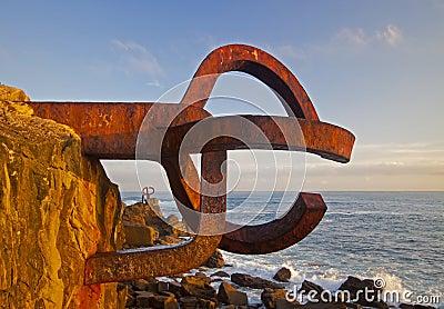 Peine del viento, Eduardo Chillida, in Donostia
