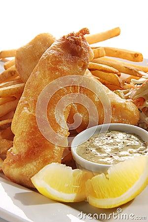 Peixes e microplaquetas