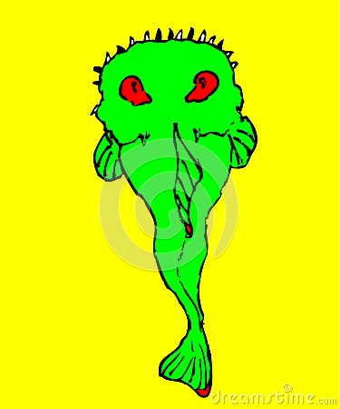 Peixes verdes