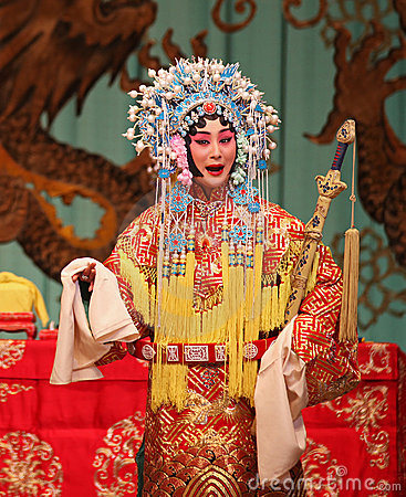 Peking Opera actor Editorial Image