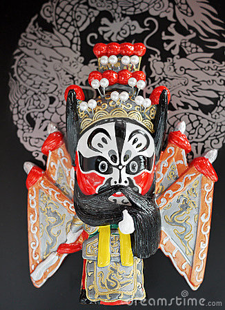peking opera masks of china