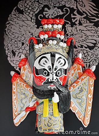 peking opera masks of china