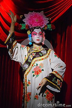 Peking opera puppet