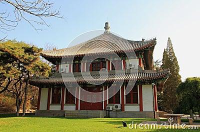 Peking University Campus Editorial Image
