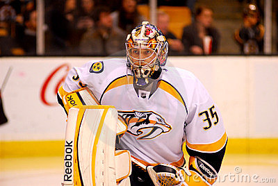 Pekka Rinne Nashville Predators Editorial Image