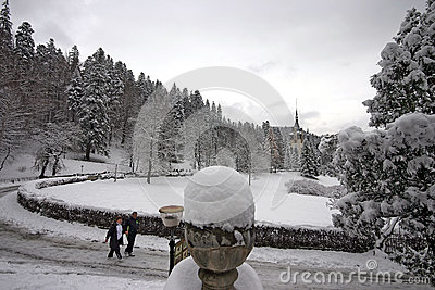 Peles Castle Editorial Photography