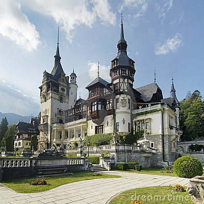 Free Peles Palace, Romania Stock Photo - 13954080