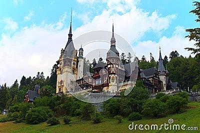 Peles slott, Rumänien