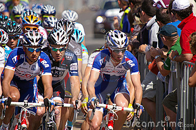 Peleton Tour Down Under 2010 Editorial Stock Photo