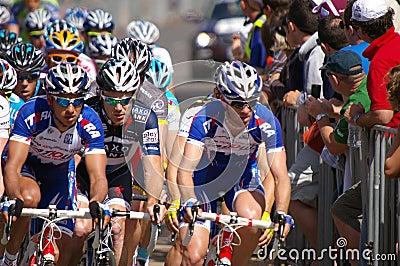 Peleton Tour Down Under 2010 Editorial Stock Photo