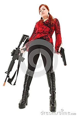 Free Pellet Air Rifle And Handgun Stock Photos - 20294253