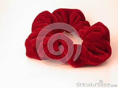 Pelo rojo Scrunchy