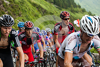 The Peloton Editorial Stock Image