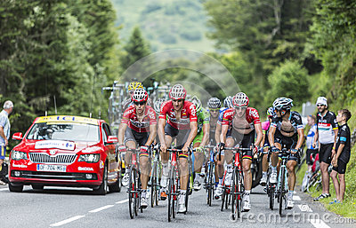 The Peloton Editorial Stock Photo