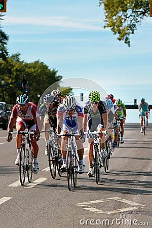 The Peloton racing Editorial Photo