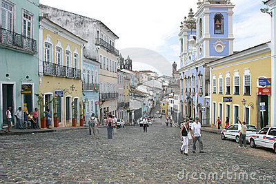 Pelourinho bahia Editorial Stock Image