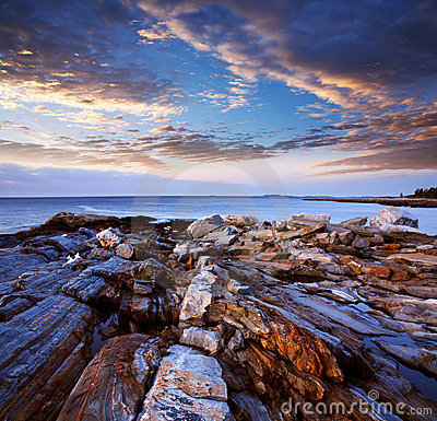 Pemaquid Point Coast