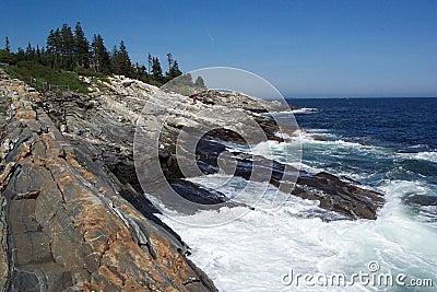 Pemaquid skał