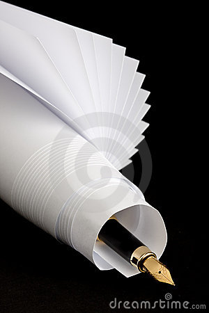 Free Pen And Paper Royalty Free Stock Images - 4354809