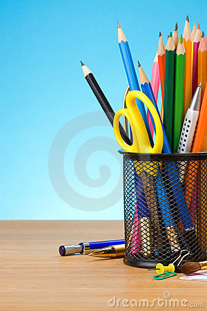 Free Pen And Pens In Holder Stock Images - 22862884