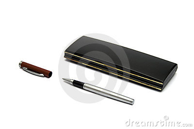 Pen and black box