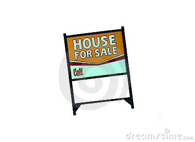 Pen And Ink Style Real Estate Sign