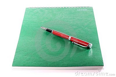 Pen and note-book