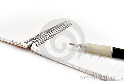 Pen and note pad